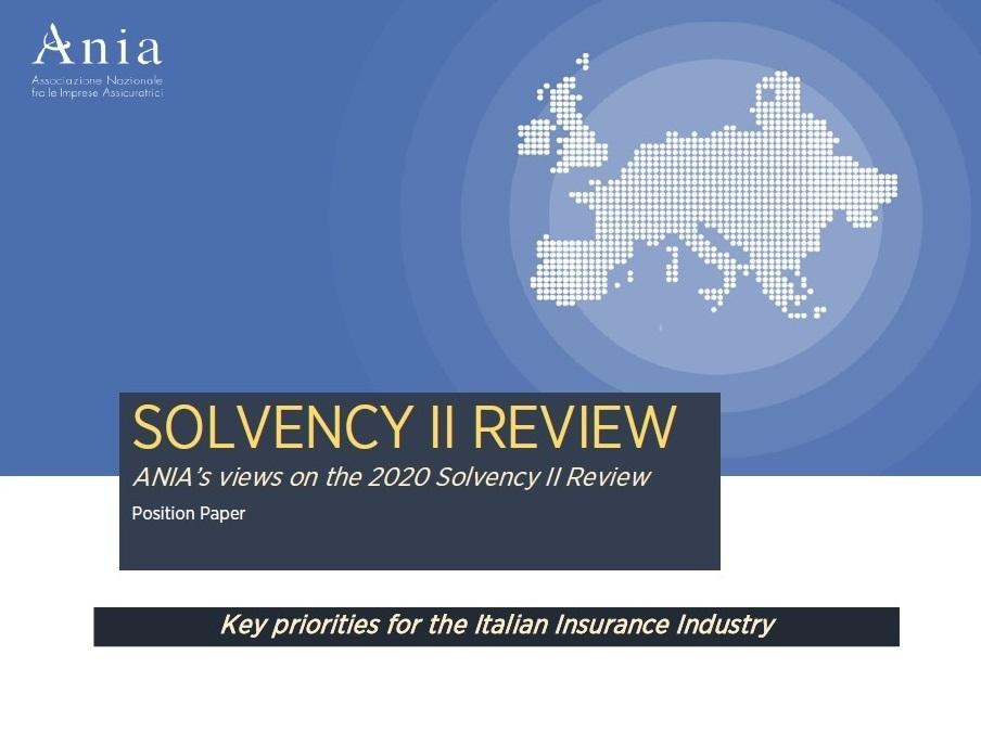 Solvency II Review: priorità e criticità secondo ANIA