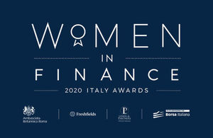 <p>Women in Finance 2020 Italy Awards</p>
